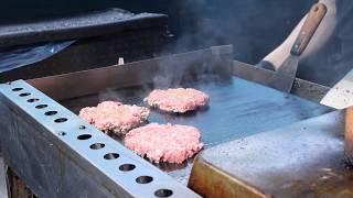 Download London Street Food: Burgers and Cuban Sandwiches - Portobello Market Video