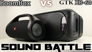 Download JBL Boombox vs Sony GTK XB-60 : Sound Battle Video