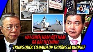 Download Hai chiến hạm của Việt Nam ra Bãi Tư Chính: Trung Quốc có đánh úp Trường Sa hay không? Video