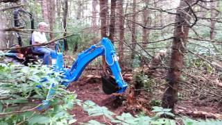 Download Dan Using The LS Backhoe For The First Time - 20160814 1328211 Video