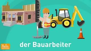 Download Learn German! Wortschatz Arbeit und Beruf Video