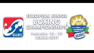 Download EUBC European Junior Boxing Championships ALBENA 2017 - Day 4 Ring B - 21/09/2017 @ 16:00 Video