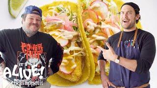Download Brad and Matty Matheson Make Fish Tacos | It's Alive | Bon Appétit Video