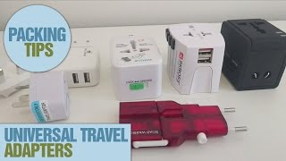 Download Which Universal Travel Adapter to Use Video