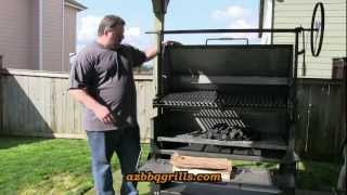 Download SmokingPit - Burn in and Seasoning the Scottsdale Wood fired Pit by Arizona BBQ Outfitters Video