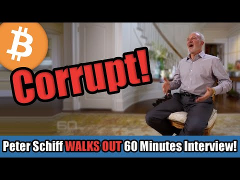 Peter Schiff WALKS OUT on 60 Minutes Interview After Global Tax Evasion Allegation | Bitcoin in 2020