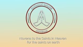 Download Intro to Novena to the Saints in Heaven for the saints on earth HD Video