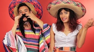 "Download Mexican People Try ""Mexican"" Costumes Video"