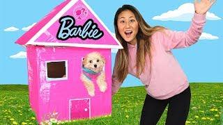 Download DIY BARBIE BOX FORT!! Video
