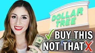 Download What You SHOULD and SHOULDN'T Buy At The Dollar Tree | Shop with Me [ But First, Coffee ] Video