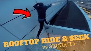 Download ROOFTOP HIDE AND SEEK vs SECURITY! *ESCAPE* Video
