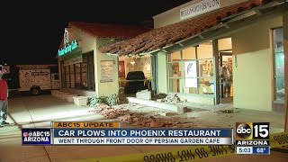 Download UPDATE: Driver plows through Phoenix restaurant Video