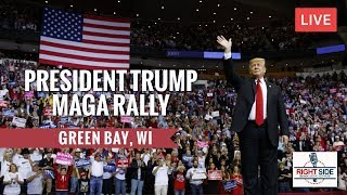 Download LIVE: PRESIDENT TRUMP MAGA RALLY IN GREEN BAY, WI 4/27/19 Video