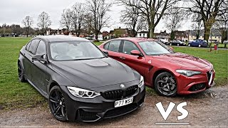 Download MY BMW M3 vs ALFA ROMEO GIULIA QUADRIFOGLIO!! Video