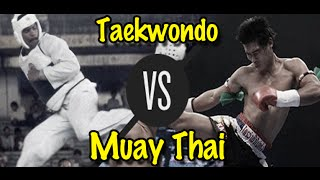 Download Muay Thai Champion vs. Taekwondo Black Belt | Lawrence Kenshin Video