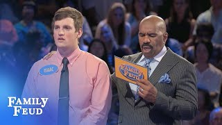Download Ben and Isaac take a shot! | Family Feud Video