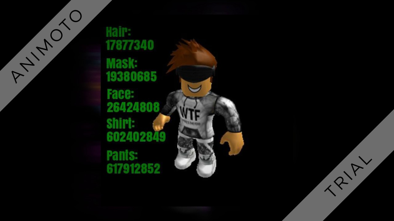 Cool ids for roblox