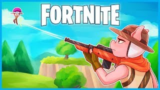 Download I'M THE BEST HUNTING RIFLE SNIPER in Fortnite: Battle Royale! (Fortnite Funny Moments & Fails) Video