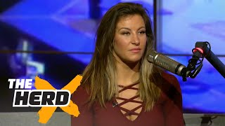 Download Miesha Tate on Rousey retirement rumor and more | THE HERD (FULL INTERVIEW) Video