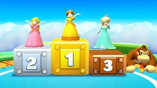 Download Mario Party Star Rush - 4 Player Mini Game - Peach Rosalina Daisy DK All Minigames (Master Cpu) Video