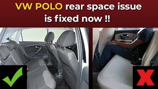 Download How Volkswagen has fixed rear seat space issue in Polo and Ameo? Video