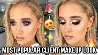 Download MOST REQUESTED CLIENT GLAM MAKEUP TUTORIAL ♡ JASMINE HAND Video