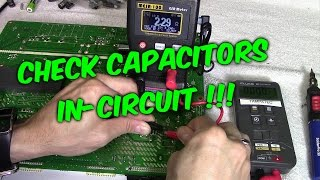 Download 3 Ways to Check Capacitors in Circuit with Meters & Testers Video