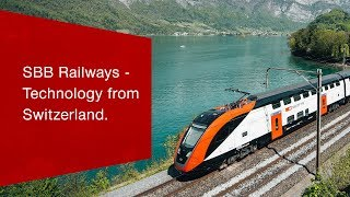 Download SBB develops innovative solutions for strong rail operations. Video