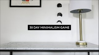 Download The 30 Day Minimalism Game: Everything I Decluttered + Review | Minimalist Home Video