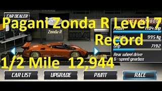 Download Drag Racing Pagani Zonda R World Record Level 7 Tune 12,944 1/2 Mile Video