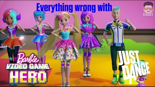 Download Everything wrong with the Just Dance scene in Barbie: Video Game Hero Video