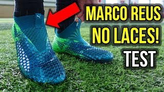 Download NO LACES LIKE MARCO REUS! - TESTING THE PUMA FUTURE 18.1 NETFIT LACELESS! Video