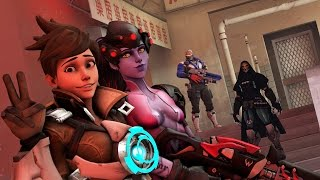 Download Being Friendly In Overwatch Video