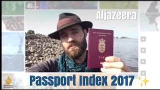 Download Quick appearance on Al Jazeera News Grid - the 2017 Passport Index Video