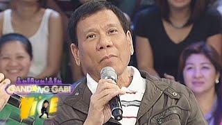 Download Mayor Duterte talks about his lovelife Video