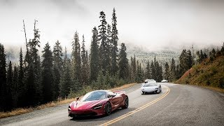 Download 16 supercars vs. the Rockies: McLaren goes epic in Canada Video