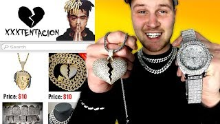 Download I Bought THE CHEAPEST XXXTentacion Rapper Chains and Merch! IS IT WORTH IT?! Video
