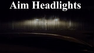 Download How to Adjust, Align, and Aim Headlights and Fog Lights PERFECTLY Video