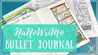 Download NaNoWriMo Bullet Journal Video