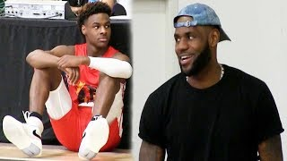 Download Bronny James Destroys 16 Year Olds to win his second Championship in ONE DAY! Video