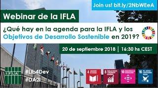 Download Webinar de la IFLA: Los ODS en 2019 Video