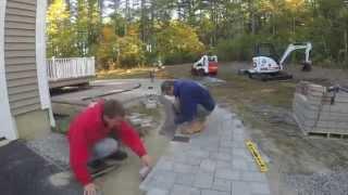 Download Unilock Paver Patio Construction Time Lapse Video