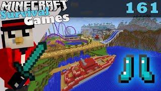 Download Minecraft Survival Games   Diamond Boots! #161 Video