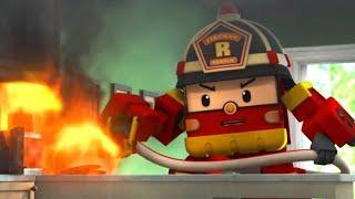 Download Робокар Поли Новые серии - Рой и пожарная безопасность - мультики про пожарные машины Video