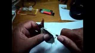 Download Isca artificial articulada caseira Video