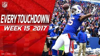 Download Every Touchdown from Week 15 | 2017 NFL Highlights Video