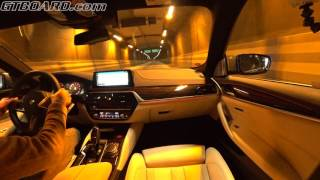 Download [4k] G30 BMW 540i Driving Assistant Plus in use, WHY DRIVE? Great for relaxing Video