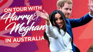 Download Duke and Duchess of Sussex put on the charm in Sydney after Meghan's pregnancy news Video