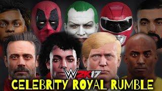 Download WWE 2K17 - 30 MAN CELEBRITY ROYAL RUMBLE!!! Video