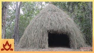 Download Primitive Technology: Grass hut Video